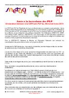 Déclaration_liminaire_CAPA_Hors_classe_2015