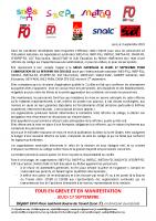 Appel Lyon grève 17 septembre
