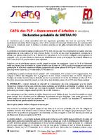 Déclaration préalable CAPA des PLP Lyon2016